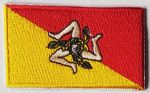Sicily Embroidered Flag Patch, style 04